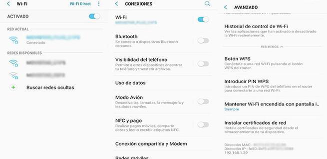 Cómo averiguar la dirección IP en Android