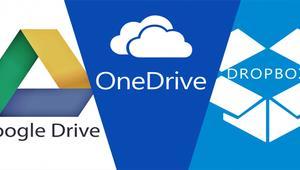 Trucos y consejos para utilizar Google Drive, OneDrive y Dropbox