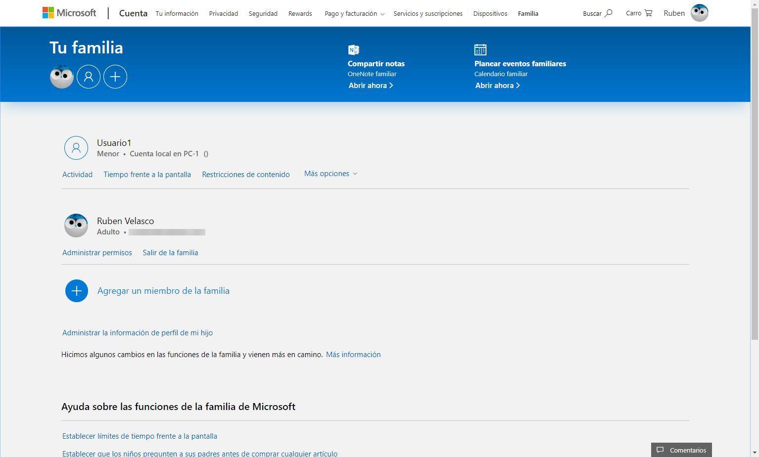 Cuenta Microsoft Xbox - Configurar cuenta menor 1