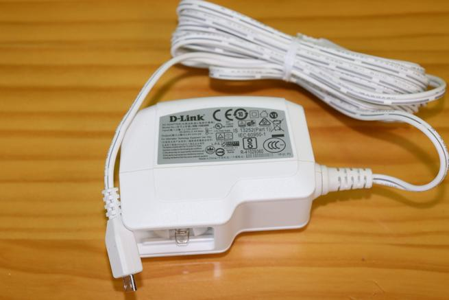 Transformador de corriente de las cámaras IP D-Link DCS-2802KT en detalle