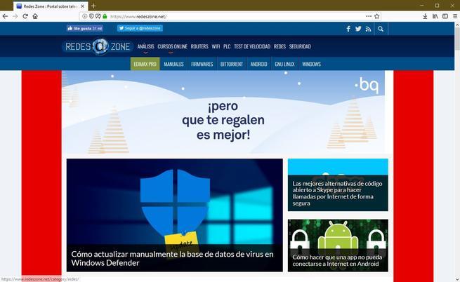 Librefox navegador firefox privacidad