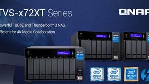 QNAP lanza su nueva serie de NAS QNAP TVS-x72XT con puertos 10GbE y Thunderbolt 3