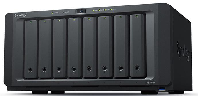 Ver noticia 'Synology DiskStation DS1819+: Conoce este servidor NAS de 8 bahías'