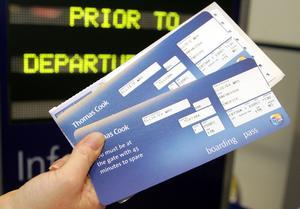 Ticket avión