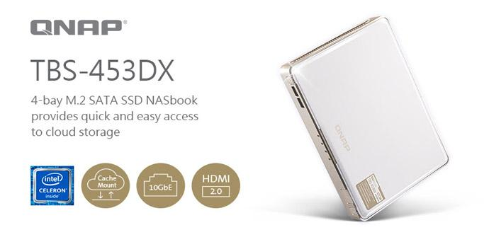 NASbook TBS-453DX de QNAP