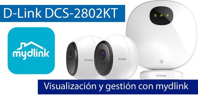 Ver noticia 'Visualización y administración del sistema de videovigilancia D-Link DCS-2802KT con mydlink'