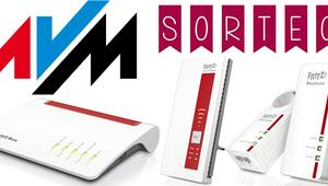 MEGA SORTEO: Router FRITZ!Box 7590, repetidor Wi-Fi FRITZ!WLAN Repeater 1750E y PLC FRITZ!Powerline 1260E