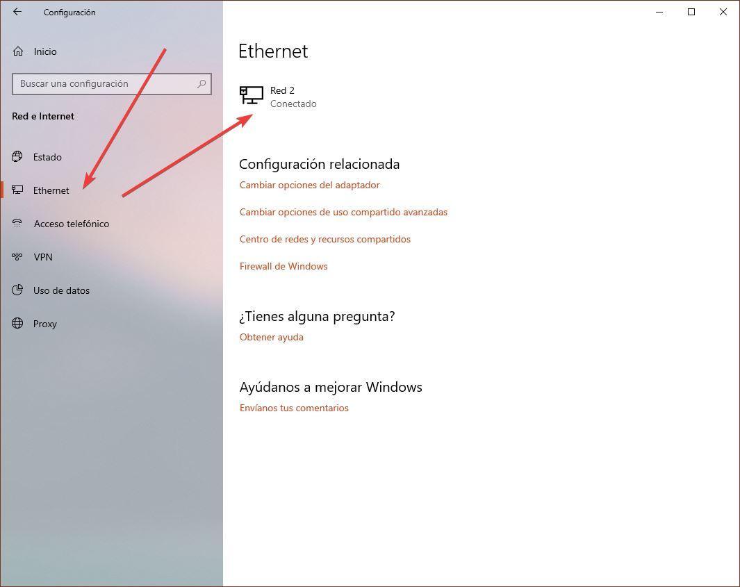 Configurar IP Windows 10 April 2019 Update - 2