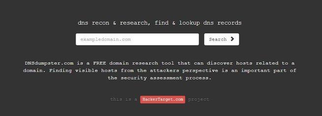 DNSdumpster