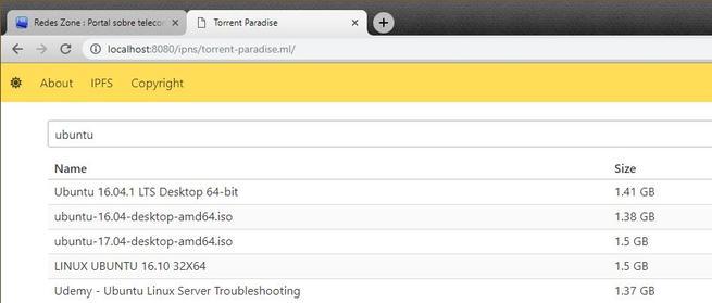 IPFS - Web a través de este protocolo