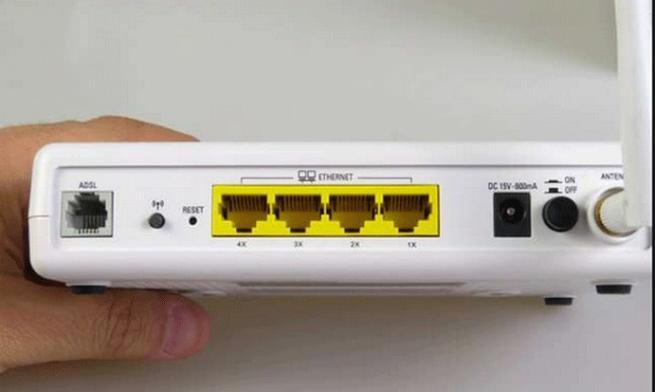 Router Zyxel viejo