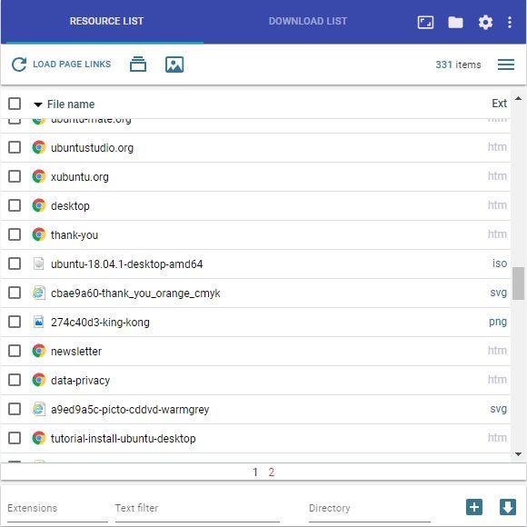 Simple Mass Downloader: descarga múltiples enlaces desde Chrome