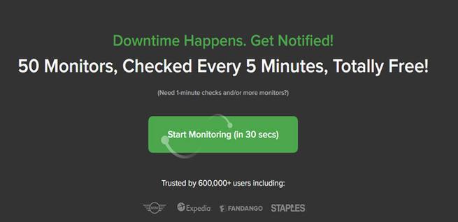 UptimeRobot, herramienta para monitorizar un sitio web