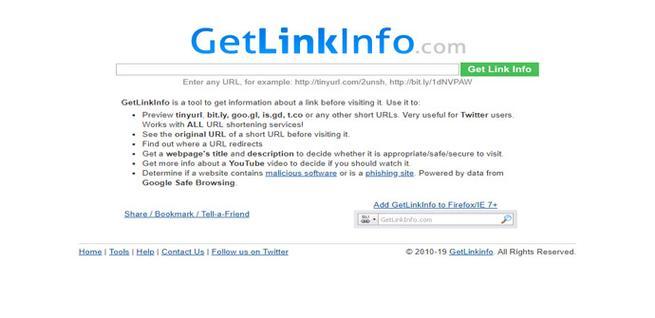 Cómo ver la dirección completa de un link acortado