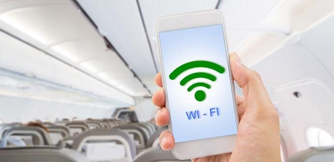 Cómo funciona el Wi-Fi en un avión