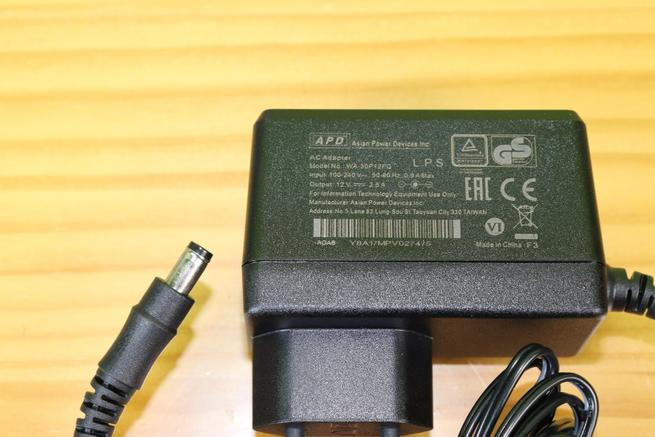 Transformador de corriente del router neutro ASUS RT-AC85P