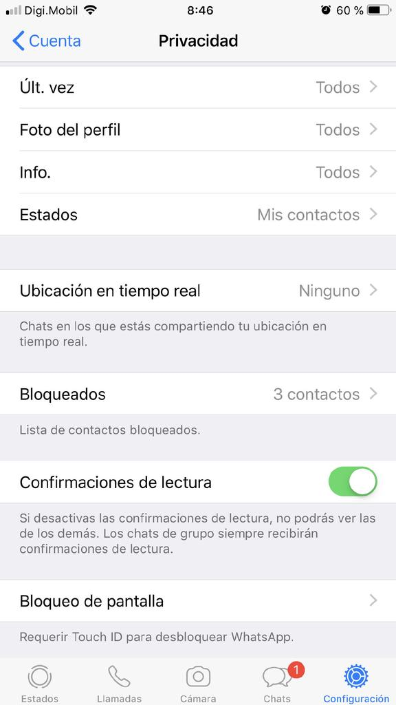 Activar huella WhatsApp iPhone - 3