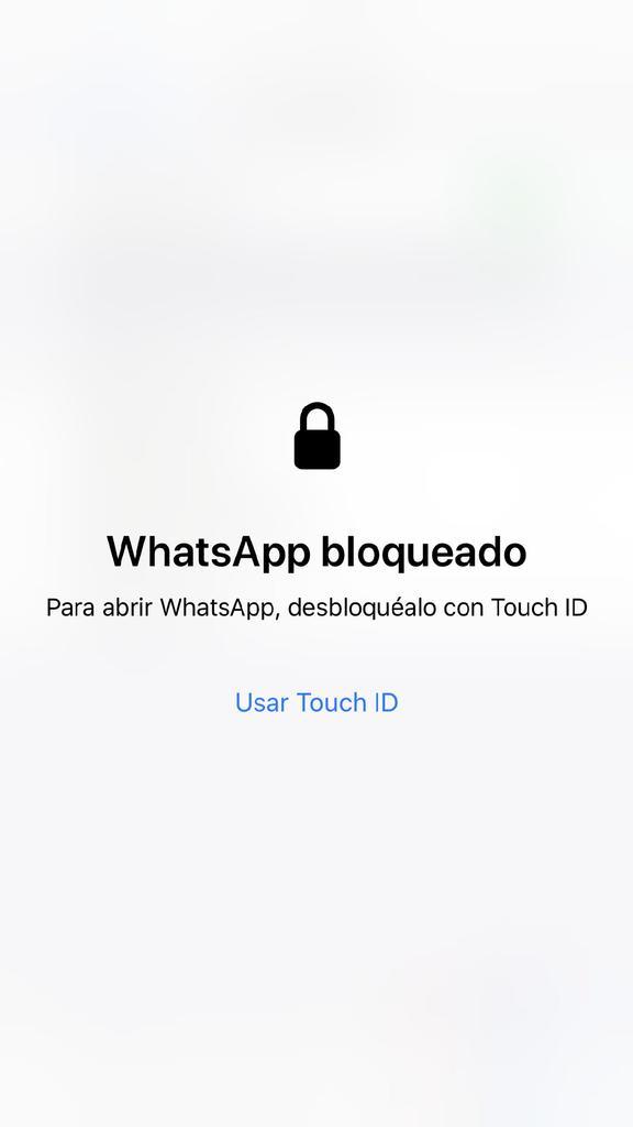 Activar huella WhatsApp iPhone - 6