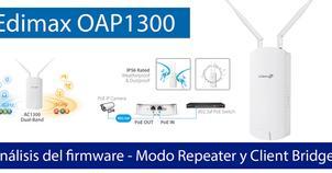 Ver noticia 'Conoce el firmware del Edimax OAP1300 en modo Repeater y Client Bridge'