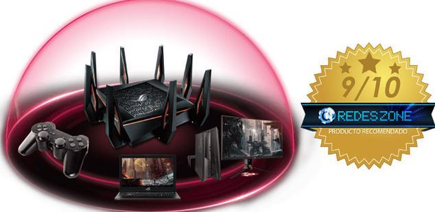 Ver noticia 'Ofertón del ASUS ROG Rapture GT-AX11000, el mejor router gaming con Wi-Fi 6'