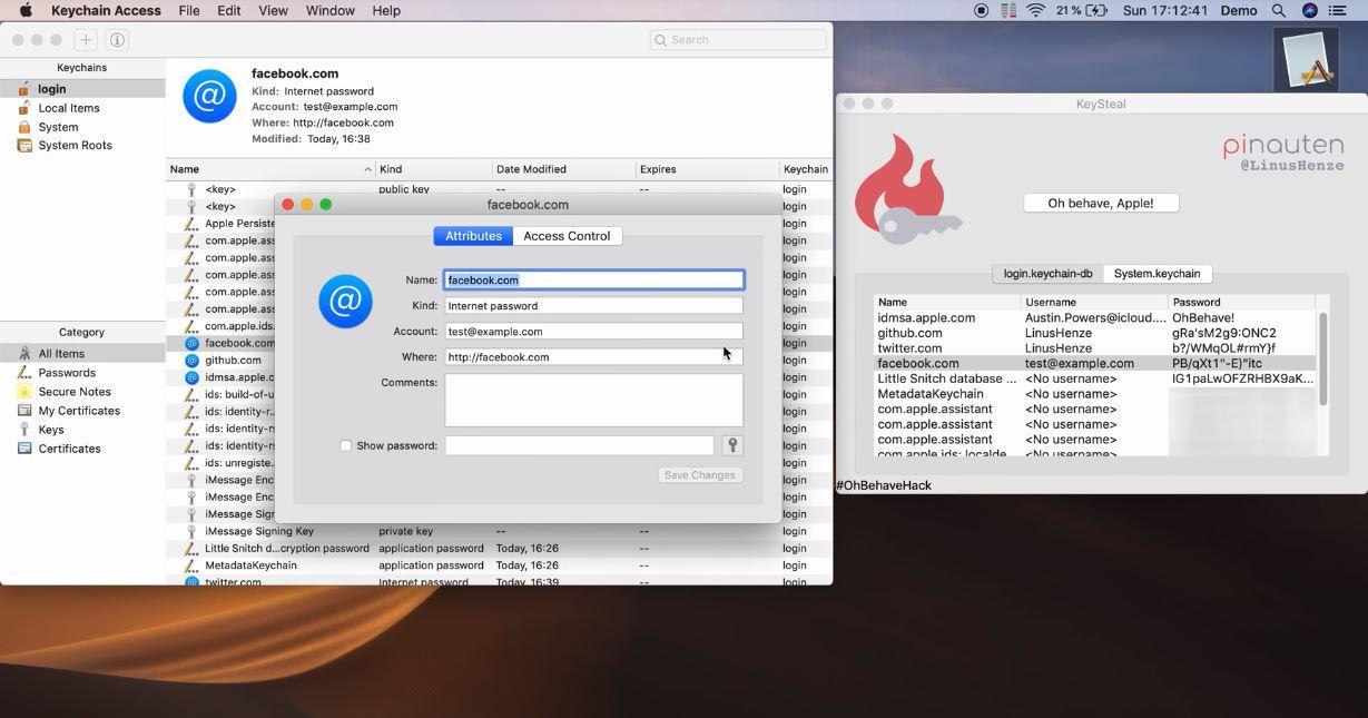 Fallo en macOS Mojave permite a cualquiera leer todas tus