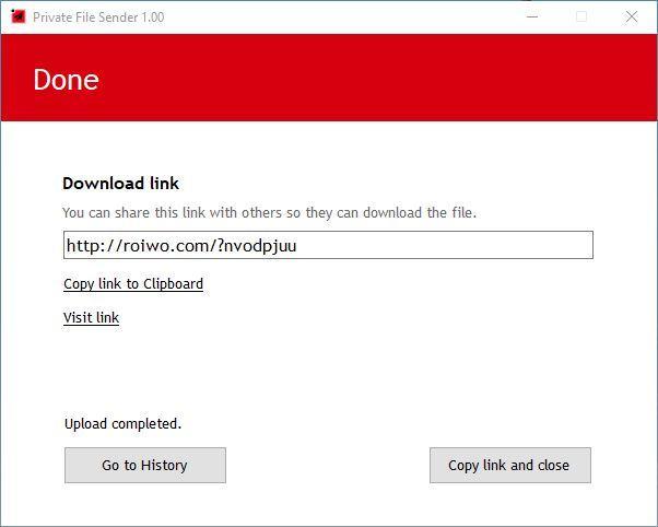 Private File Sender - 3
