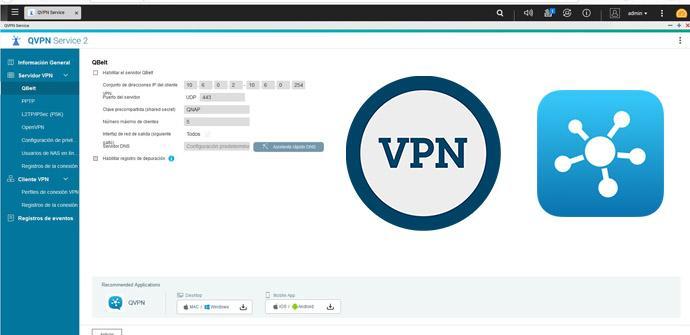 Ver noticia 'QVPN QBelt: Instalación y configuración de esta VPN de los NAS QNAP'