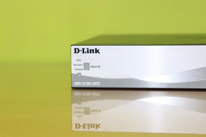 LEDs de estado del switch L3 D-Link DGS-3130-30TS