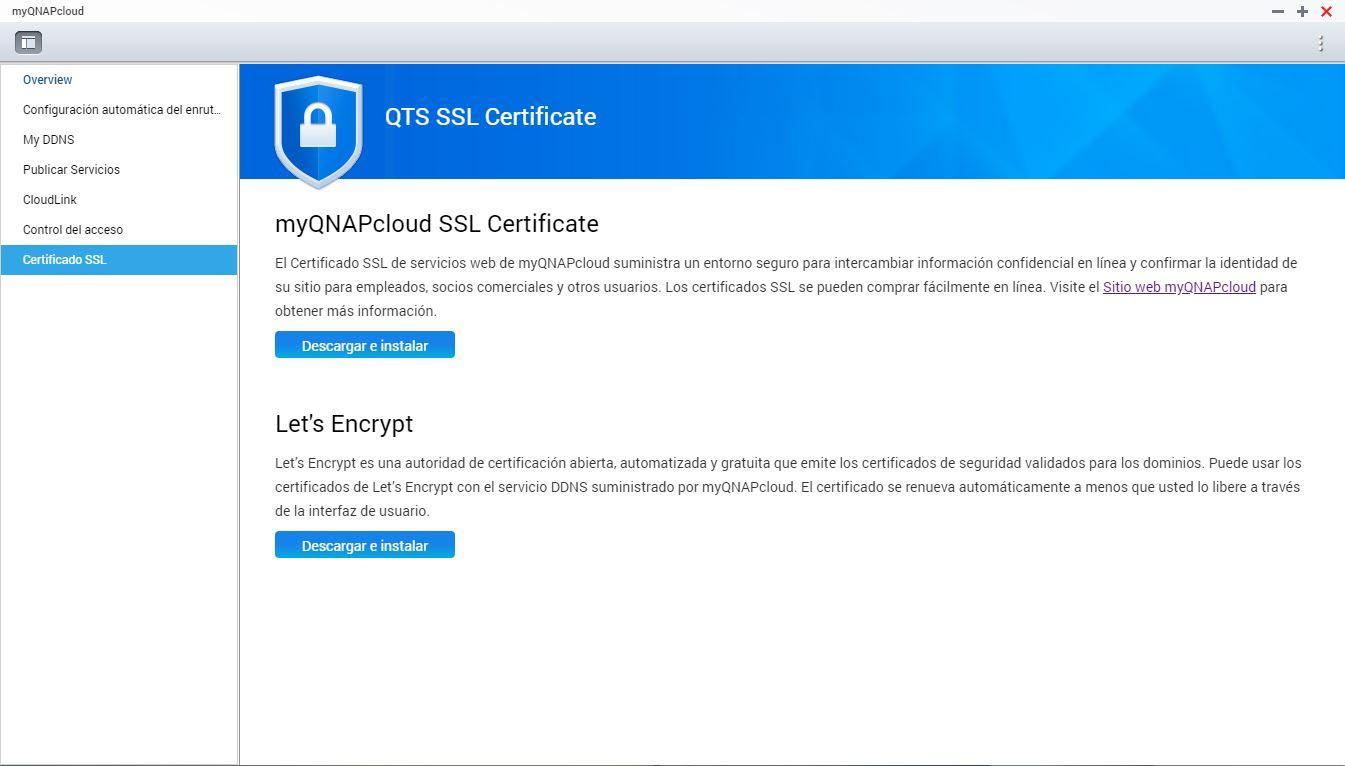 MyQNAPcloud - configuración NAS 7