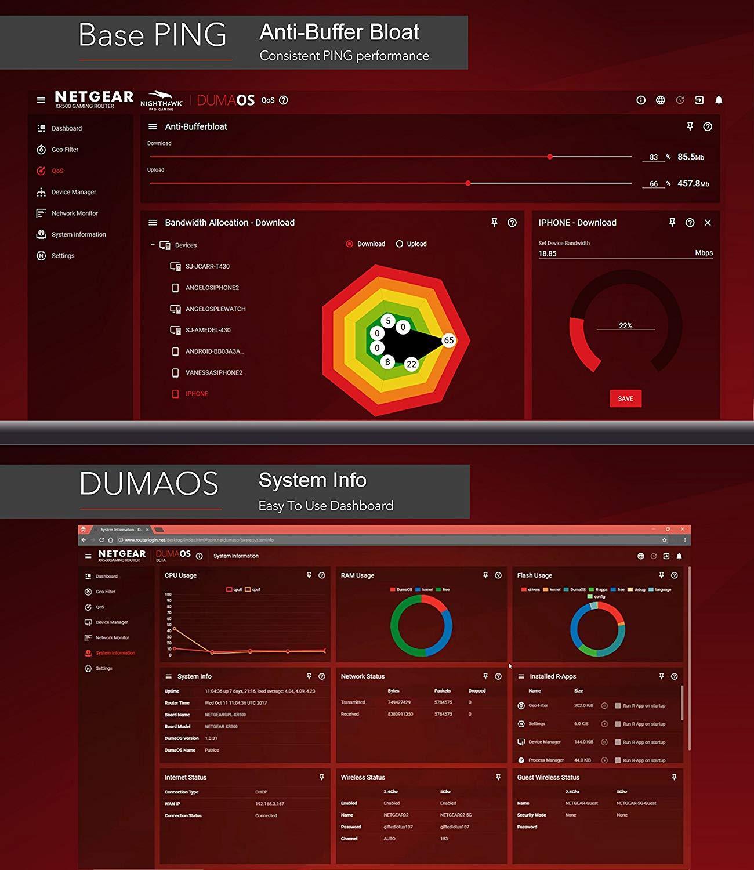 NETGEAR Nighthawk Pro Gaming XR300 - DumaOS 2