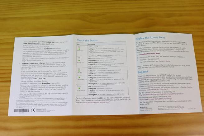 Documentación del NETGEAR WAC505