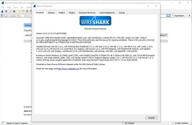 Wireshark 3.0