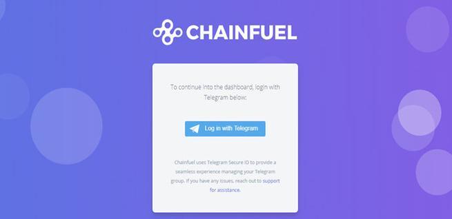 Chainfuel, un bot para evitar el Spam en Telegram