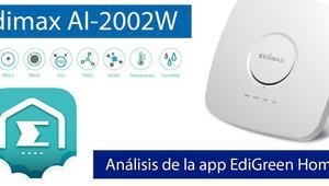 EdiGreen Home: La app para controlar la calidad del aire, temperatura y humedad en el hogar