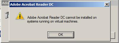 MSI malware Adobe DC