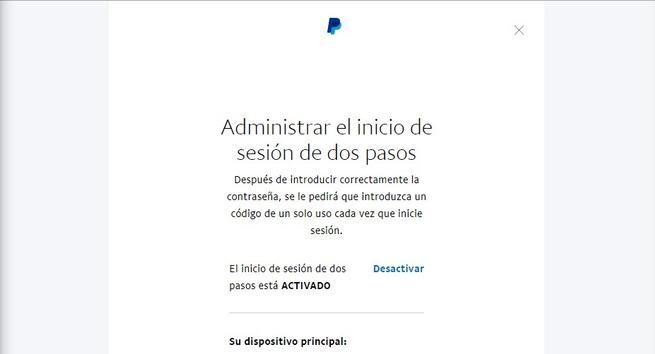 PayPal - Activar Google Authenticator 2