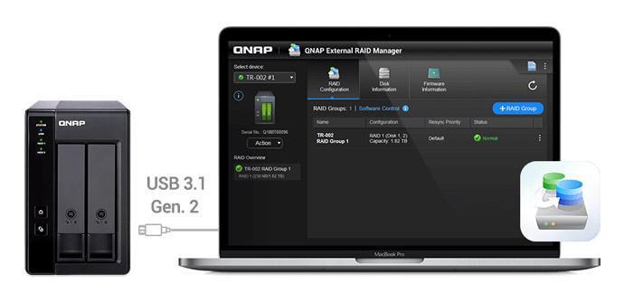 Ver noticia '¿Necesitas almacenamiento externo en tu ordenador o NAS? El nuevo QNAP TR-002 es una muy buena opción'