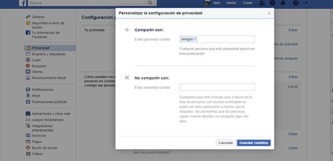Cómo controlar la lista de amigos de Facebook