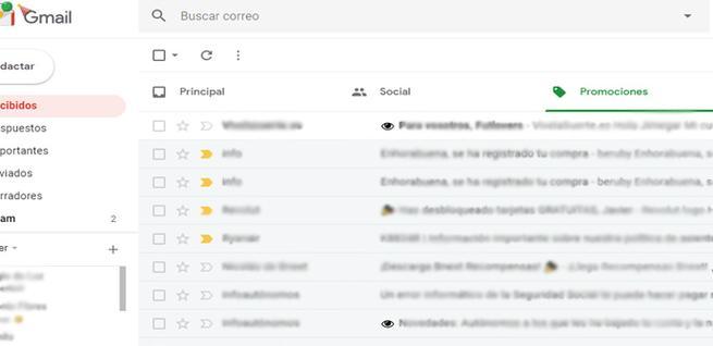 Evitar rastreo en Gmail