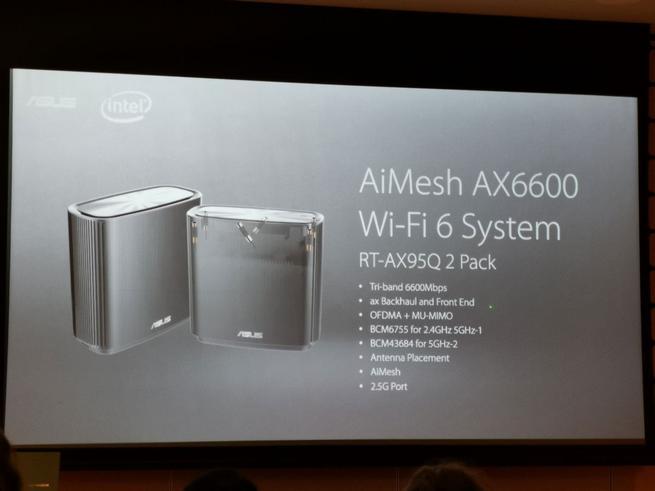 ASUS AiMesh AX6600 - Presentación 1