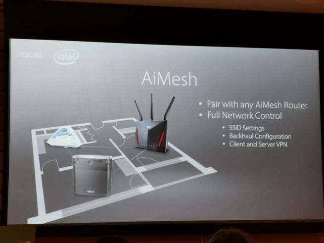 ASUS AiMesh AX6600 - Presentación 2