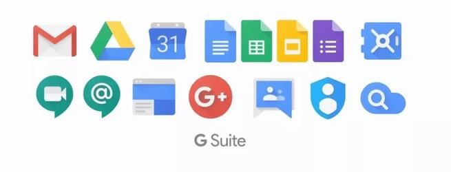 Aplicaciones Google G-Suite