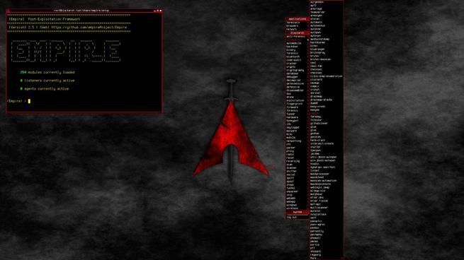 BlackArch Linux openbox
