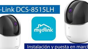 Cómo instalar y configurar la cámara IP D-Link DCS-8515LH con mydlink y grabación en el Cloud