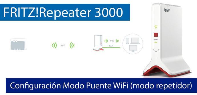 Ver noticia 'Cómo configurar el FRITZ!Repeater 3000 en Puente WiFi (repetidor Wi-Fi) con cualquier router'