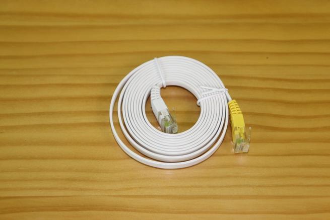 Cable de red Ethernet cat5e plano del repetidor FRITZ!Repeater 3000