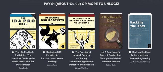 Humble Book Bundle - Hacking 2.0 - pack 1