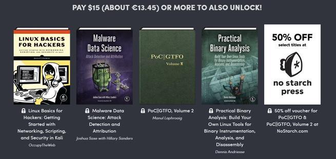 Humble Book Bundle - Hacking 2.0 - pack 3