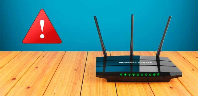 Router no seguro