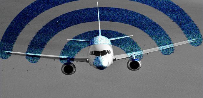 La complejidad de tener Internet en el avión
